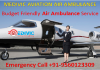 Decide Finest Doctor and Hi-tech ICU Setup on Air Ambulance in Patna