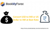 Convert USD to INR or US Dollar to INR at Best Rate