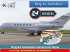 King Air Ambulance in Kolkata-All Equipment Available For the Treatment