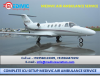 Quick Emergency Support Medivic Air Ambulance Service in Hyderabad