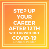 Step up your career after 12th with or without covid