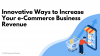 Innovative Ways to Increase Your e-Commerce Business Revenue