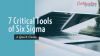 7 critical tools of lean Six Sigma
