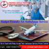 Shifting of patient through Air Ambulance from Patna to Delhi