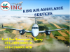 Now Get Appropriate and Inimitable ICU Care Air Ambulance Service in Delhi by King