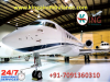 Get Full Hi-tech ICU Setups Medical Care Air Ambulance Service in Bagdogra by King