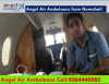 Crystal Clear Medical Care Support by Angel Air Ambulance in Guwahati